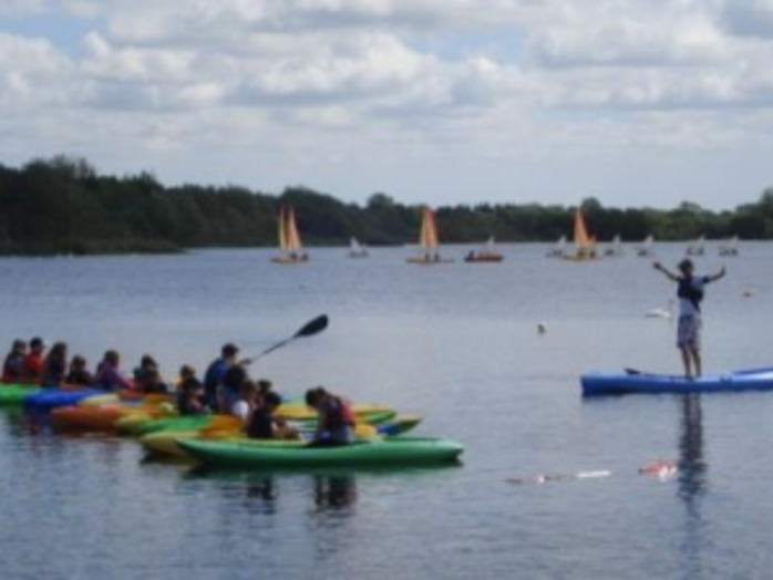 Climb and Kayak at Whitlingham Adventure