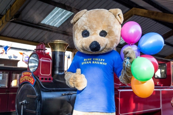 Teddy Bear Express at Bure Valley Railway - 3